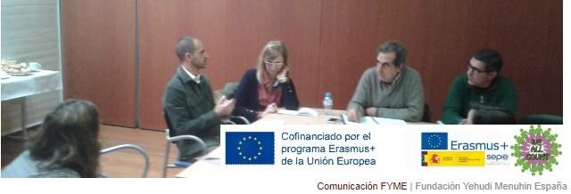Reunión de coordinación 'We All Count', nuevo proyecto Erasmus+.