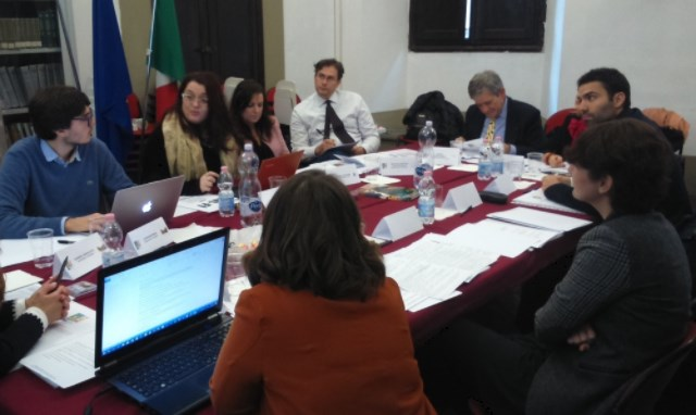 Incontro della Fondazione con i rappresentanti Mus-E a Bologna.
