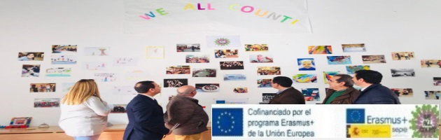 'We All Count': Exhibition of the CRA Rio Tajo-José Manuel Oviedo, which demonstrates the involvement of the entire center in the project