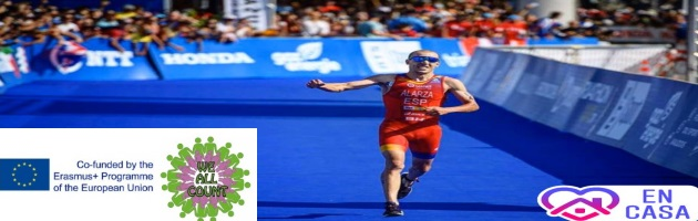'We All Count': The CRA Rio Tajo premieres its digital interviews section of the students 'We talk to…'. And debuts with Olympic triathlete Fernando Alarza