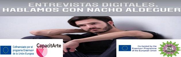 Siguen las entrevistas digitales del CRA Río Tajo: Nacho Aldeguer, actor y músico